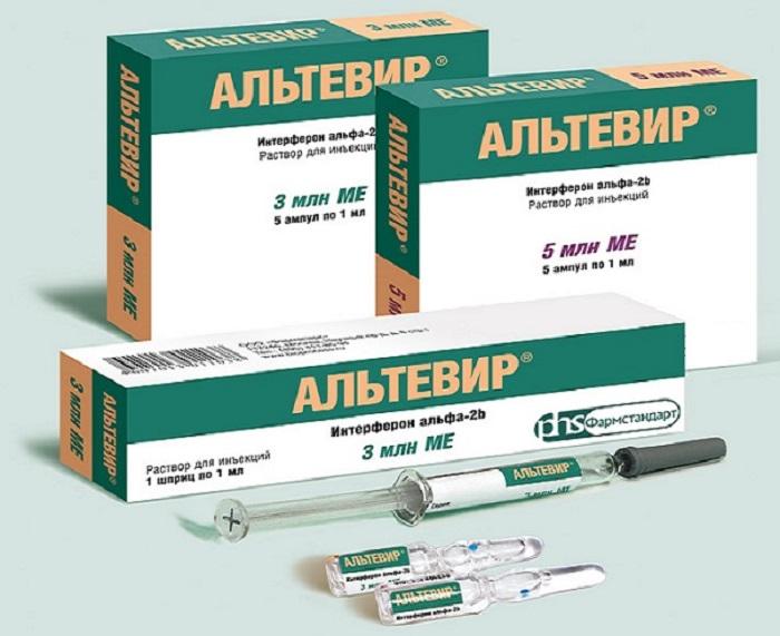 Альтевир — средство для лечения ВПЧ: инструкция по применению