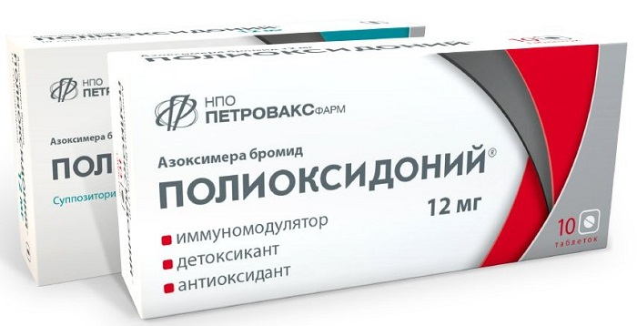Инструкция по применению препарата Полиоксидоний